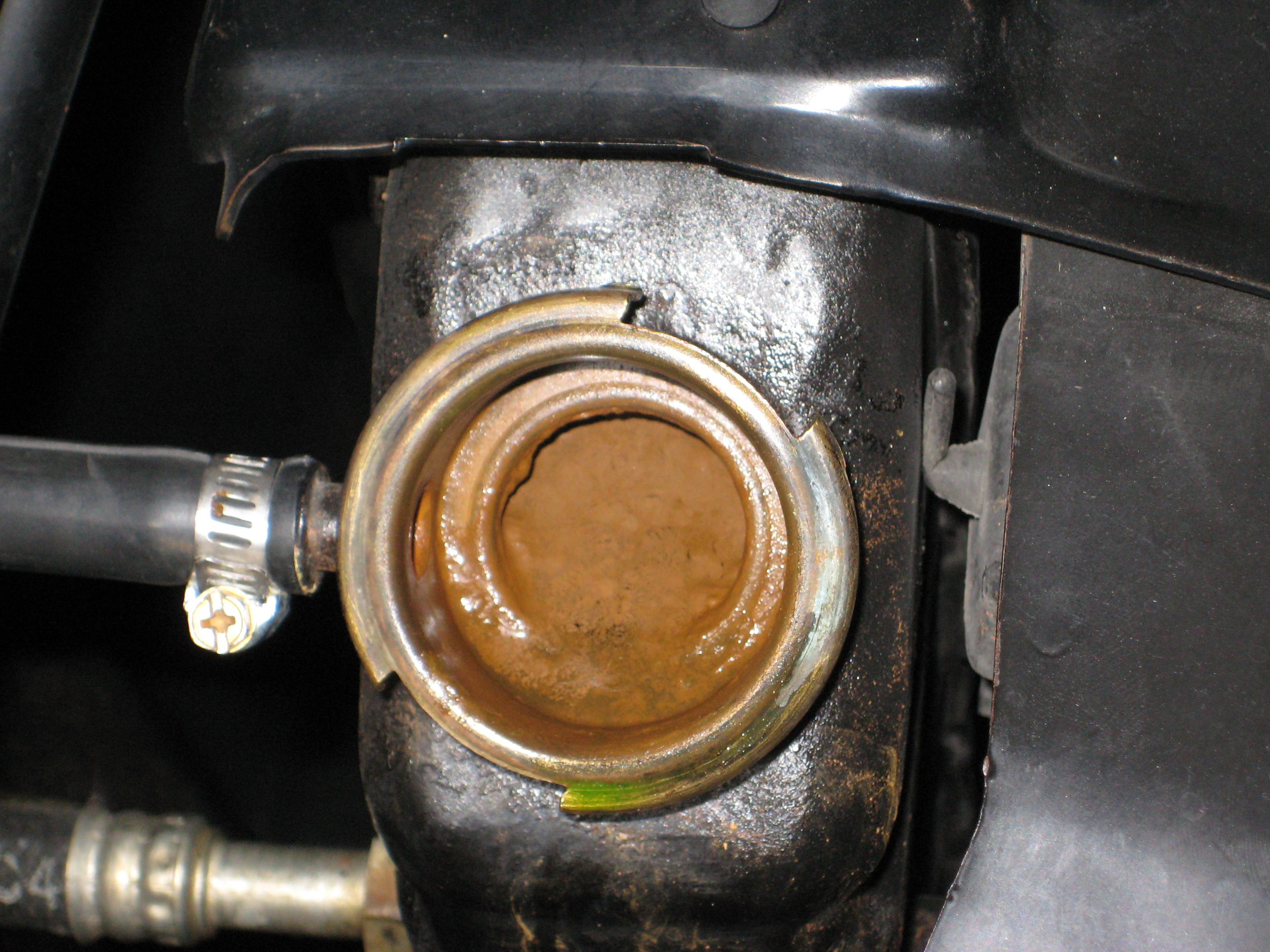 Antifreeze Coming Out Of Trans Cooler Line Jeep